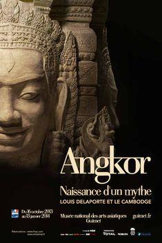 Angkor, naissance d'un mythe. Louis Delaporte et le Cambodge. Musée national des arts asiatiques Guimet, Paris.