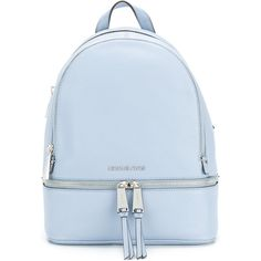 Michael Michael Kors Rhea large backpack (1 250 PLN) ❤ liked on Polyvore featuring bags, backpacks, backpack, purses, blue, backpack bags, blue bag, day pack backpack, pocket backpack and michael michael kors bags