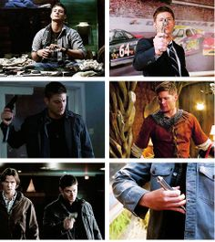 [GIFSET] Dean, doing things that are way more attractive than they should be.