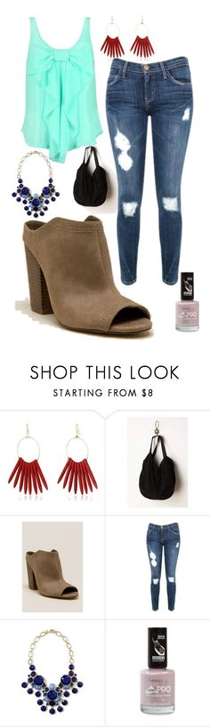 """""""But No..."""" by agent-skyewidow ❤ liked on Polyvore featuring Kenneth Jay Lane, Indigo Road, Current/Elliott, Ella Moss, Banana Republic and Rimmel"""