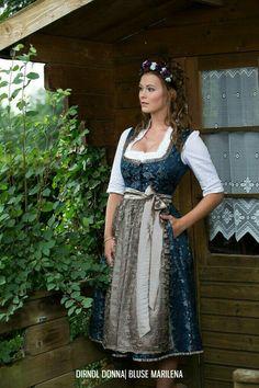 Frühjahr Sommer 2018 ‹ Melega Fashion GmbH | Dirndl Donna | Bluse Marilena | S❤