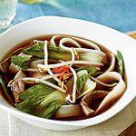 Under 400 Calorie Vietnamese Beef-Noodle Soup with Asian Greens Recipe | MyRecipes.com