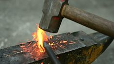 Blacksmith At Work Stock Footage Video | Getty Images