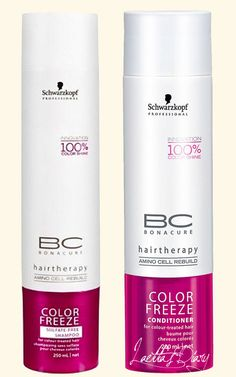 Finish off a stunning color with the technologically advanced BC Color Save Sulfate-free #Schwarzkopf