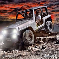 """Living Jeep by @cultofjeep """"Jeeping in Mordor. Thanks to @Nathan Ritchey for his photoshop skills."""