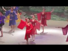 Anika-Jovi McCarthy as Mulan - a Queensland National Ballet Production December 11 and 12,  2014 - YouTube