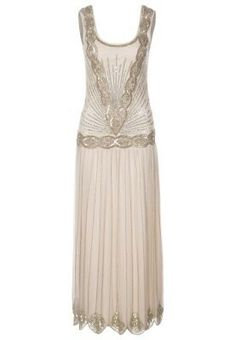 Cocktail Dress Zelda - Light Beige