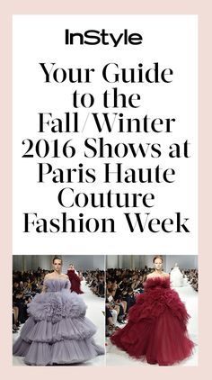 A quick cheat sheet to the best runway and celebrity moments at the fall 2016…
