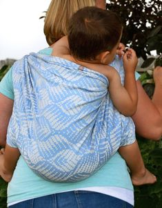 Baby Carrier Wrap Ceres Skye, made by Tekhni, in pattern Ceres, contains cotton repreve Limited Edition, released 6 August thickness 290 Baby Wrap Carrier, Persephone, Baby Wearing, All In One, Babywearing