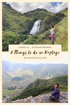 Things to do in Kazbegi Georgia (The country).  Georgia itinerary, Georgia travel guide. Things to do in Georgia.