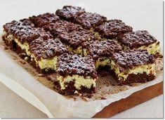 Sweet Recipes, Cake Recipes, Dessert Recipes, Hungarian Desserts, Polish Desserts, Banana Pudding Recipes, Dessert Drinks, Food Cakes, Easy Desserts