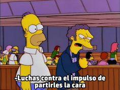 Memes Simpsons, Simpsons Frases, The Simpsons, Memes Estúpidos, Funny Memes, Current Mood Meme, Spideypool, Homer Simpson, Sanrio Hello Kitty