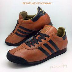 adidas Originals mens RENO Trainers Brown size 9.5 Rare VTG Sneakers US 10 EU 44  | eBay