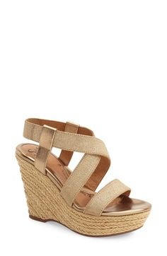 Söfft 'Perla' Espadrille Wedge (Women) available at #Nordstrom