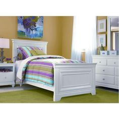 'Classics' Twin Panel Bed Ensemble for $1,299.99