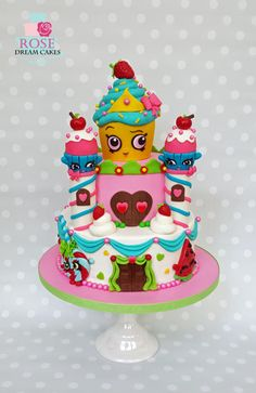 Shopkins Castle Cake by Rose Dream Cakes