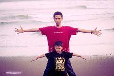 me and aping (dzakir)