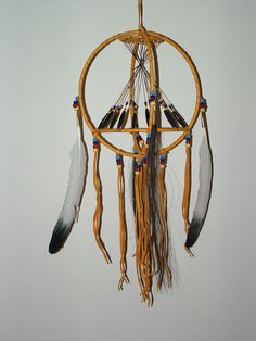 """Interesting idea without the """"dreamcatcher"""", just the tipi in the middle to make a wall hanging. Native American Beliefs, Native American Artifacts, Dream Catcher Mobile, Dream Catchers, Dream Catcher Tutorial, Dream Catcher Native American, Preschool Projects, Medicine Wheel, Indian Heritage"""