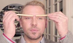 You can determine how thin or wide your nose looks by the way you shape your eyebrows.