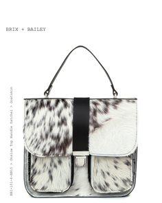 Brix + Bailey Onslow Top Handle Leather Satchel - Hide -Made in England - www.brixbailey.com