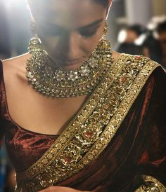 Sabyasachi does it again! Stunning jewelry! #jewelry #indian #indianbride…