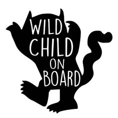 Wild Child on Board Yeti Decal - Yeti Name Decal - Yeti Sticker - Yeti Cup decal - Tumbler decal - Yeti Vinyl Decal - Yeti decal - decals by SaltyGingerTX on Etsy Yeti Stickers, Yeti Decals, Bumper Stickers, Vinyl Decals, Decals For Cars, Wall Stickers, Wall Decals, Cricut Air, Cricut Vinyl