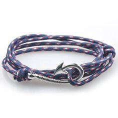 Silver Hook Multilayer Bracelet - Square Berry Co