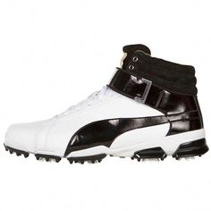 PUMA Titan Tour Ignite High Top Golf Shoes Built on the TITANTOUR IGNITE  foundation and constructed 1483e3674