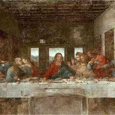 "Leonardo Da Vinci ""The Last Supper"" ... on Thursday, the disciples arranged for the Passover meal"