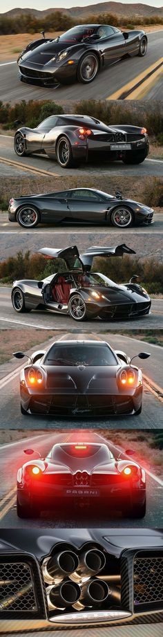 Pronounced 'H-wire-ah', it's the successor to the almighty Pagani Zonda and it's named after a South American wind god called Huayra Tata.