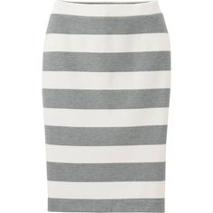 striped skirt by ericadawn76 on Polyvore featuring polyvore, fashion, style and Uniqlo