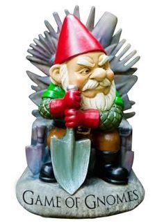 Game of Gnomes Garden Gnome - Game of Thrones Inspired Garden Gnome