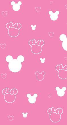 ミッキーミニー iPhone壁紙 Wallpaper Backgrounds iPhone6/6S and Plus Mickey and Minnie Simple Pattern Wallpaper