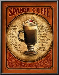 Spanish Coffee  by Gregory Gorham