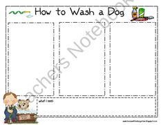 How To Writing from Krazee4Kindergarten on TeachersNotebook.com (1 page)