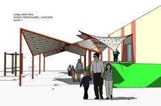 Roof Architecture, Gazebo, Carp, Sun Protection, Uruguay, Facades, Events, Kiosk, Pavilion
