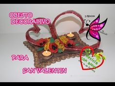 Rosas, cestería con papel periódico - basketry roses with newspaper - YouTube