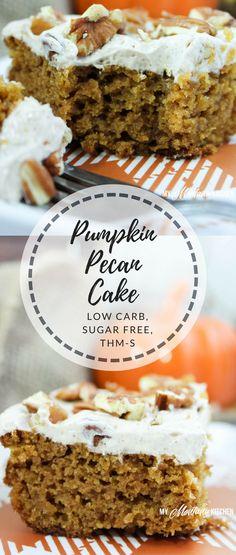 Pumpkin Pecan Cake (
