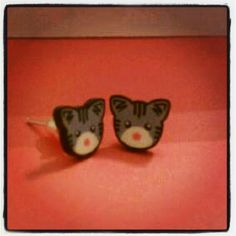 #roadrunnerthecatsfriends, #michaelgreenblatt, #catearrings Cat Earrings by #charmiesbywendy #handmadejewelry #wendycharmies #customorders #miniatures, #loveminiatures #ragamuffins #maincoons #kittens #adorablekittyjewelry #polymerclay #likeusonfacebook/charmiesbywendy #follow on #instagram/charmiesbywendy #pinterest/charmiesbywendy #twitter/charmiesbywendy Order anything