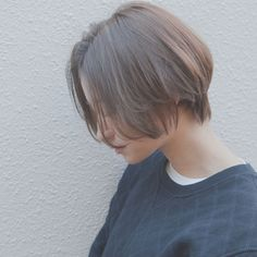 Pin on ショートヘア Shot Hair Styles, Curly Hair Styles, Girl Short Hair, Short Hair Cuts, Hair Inspo, Hair Inspiration, Face Shape Hairstyles, Hair Arrange, Let Your Hair Down
