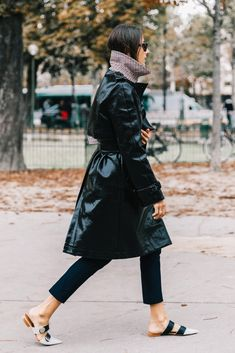 Vinyl Trench Coat & How to wear vinyl for 2018   Cool Chic Style Fashion