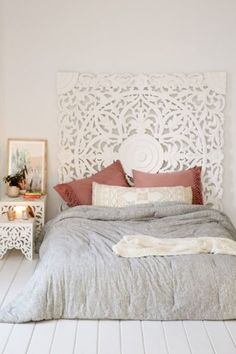 Grand Sienna Headboard - Urban Outfitters DIY Headboard Ideas that Will Make Your Bedroom Design Looks Gorgeous Home Bedroom, Bedroom Decor, Bedroom Ideas, Master Bedrooms, Bedroom Inspiration, 1930s Bedroom, Target Bedroom, Bedroom Beach, Luxury Bedrooms