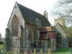 Pugin's chancel    St Mary, West Tofts, Norfolk