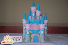 LE TORTE DI ROSY LAI: Il castello della Bella Addormentata per Giulia