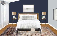Online Bedroom Designer Eclectic Transitional Bedroom Designhavenly Interior Designer