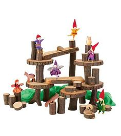 Amazon.com: Cherry Tree Blocks for Stacking and Building, 36 Pieces: Toys & Games