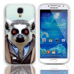 Mooie Bradypode Pattern Hard Case met 3-Pack Screen Protectors voor de Samsung Galaxy S4 mini I9190 – EUR € 3.67