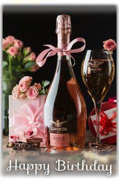 Happy Birthday Cupcakes, Birthday Cheers, Happy Birthday Flower, Happy Birthday Messages, Happy Birthday Images, Man Birthday, Birthday Wishes, Birthday Cards, Wine Bottle Design