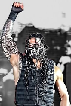 Roman Reigns...one of my new favorite wrestlers...................oooooooohhhhhhh yeeeeaaaaahhhhh lol