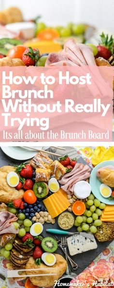 Your guide to hosting a gorgeous, amazing brunch without cooking a single thing. Whether you're celebrating Easter, Mother's Day and just a sunny Sunday, this gorgeous Brunch Board is going to make your life a whole lot easier.